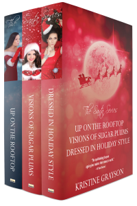 Santa Series omnibus cover boxed set